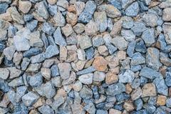 从岩石堆的岩石纹理 免版税库存图片