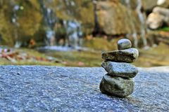 岩石堆 库存图片