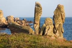 岩石塑造了奇怪 免版税图库摄影
