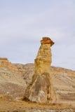 岩石塔在卡帕多细亚 免版税库存图片