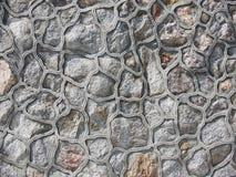 岩石墙壁样式背景 图库摄影