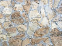 岩石墙壁纹理,石墙背景 库存照片