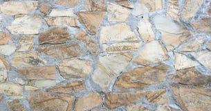 岩石墙壁纹理,石墙背景 免版税库存图片