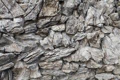 岩石墙壁纹理 免版税图库摄影
