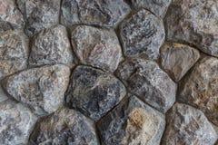 岩石墙壁背景 免版税库存照片