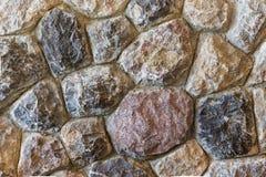 岩石墙壁背景 免版税库存图片