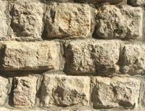 岩石墙壁,石墙纹理背景 库存照片