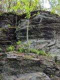 岩石壁架 库存图片