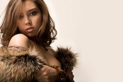 岩石妇女 免版税图库摄影