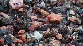 岩石小卵石背景 库存照片