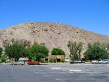 岩石小山,棕榈点心,加利福尼亚,美国 免版税库存图片