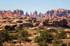 岩石尖顶 库存图片