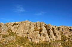 岩石山顶 图库摄影