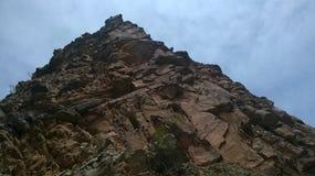 岩石山 库存图片