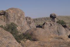 岩石岩层城市 免版税库存照片