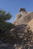 岩石岩石塔城市 库存照片