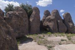 岩石岩石群城市 免版税图库摄影