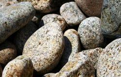 岩石岸 免版税库存图片