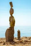 岩石平衡的艺术 库存照片