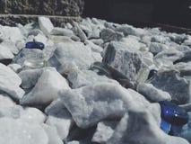 岩石床 图库摄影