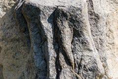 岩石形状的墙壁块 库存照片
