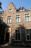 岩石房子在美因法在德国 免版税库存图片