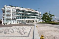 岩石旅馆在澳门 图库摄影