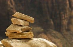 岩石栈 库存图片