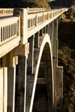 岩石桥梁的小河 库存图片