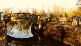 岩石桥梁 库存照片