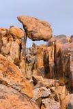 岩石楔子 免版税库存图片