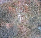 岩石概略的纹理 图库摄影