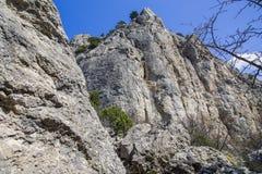 岩石横向的山 库存图片