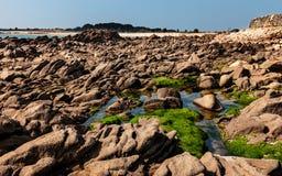 岩石横向 库存图片