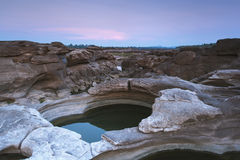 岩石横向 免版税图库摄影