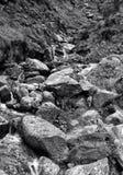 岩石横向 图库摄影