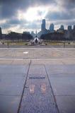 岩石步骤在Philly 免版税库存图片