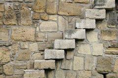 岩石步骤 免版税库存照片