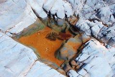 岩石池 免版税库存图片
