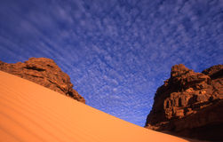 岩石沙子 免版税图库摄影