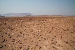 岩石沙漠 免版税库存照片