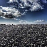 岩石沙漠 免版税图库摄影