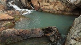 岩石河瀑布越南 股票录像