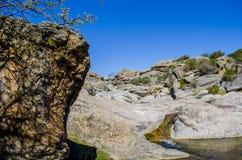岩石河 图库摄影