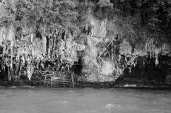 岩石海岛 免版税图库摄影