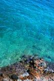 岩石海岸 图库摄影