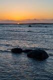 岩石海景 本质的构成 免版税库存图片