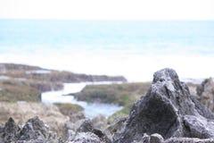 岩石海河 免版税库存图片