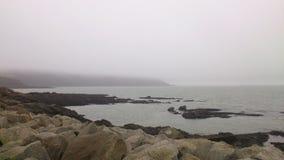 岩石海边 库存照片