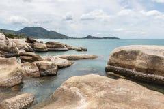 岩石海 免版税库存图片